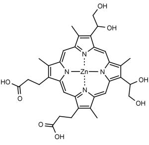 Zn (II) Deuteroporphyrin IX 2,4 bisethylene glycol - Echelon Biosciences