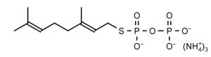 Geranyl S-Thiolodiphosphate (GSPP) - Echelon Biosciences