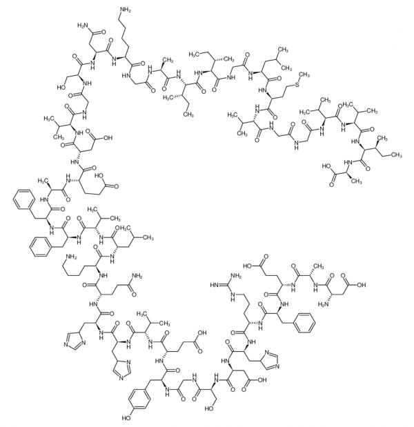 Beta Amyloid (1-42), human (CAS 107761-42-2) - Echelon Biosciences
