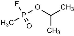 Chemical warfare agent, sarin
